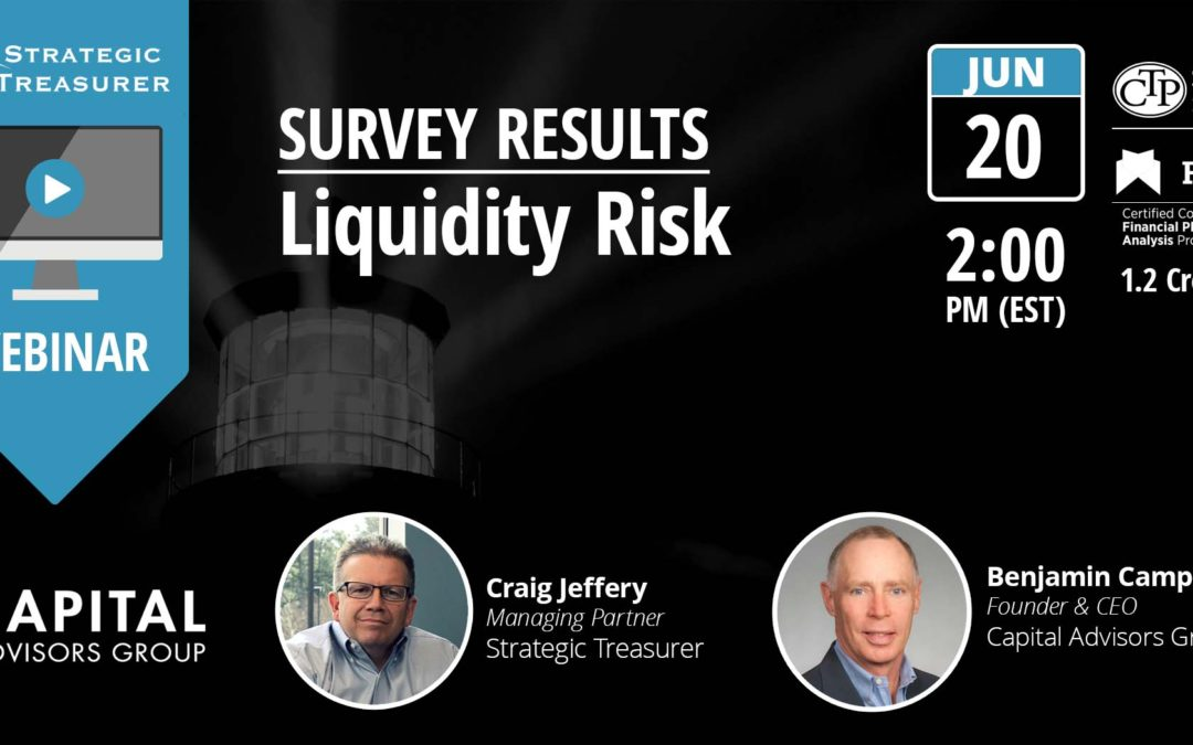 Survey Results: 2017 Liquidity Risk [Webinar with Capital Advisors Group]