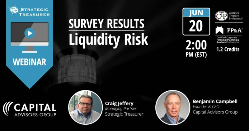 Survey Results: 2017 Liquidity Risk [Webinar with Capital