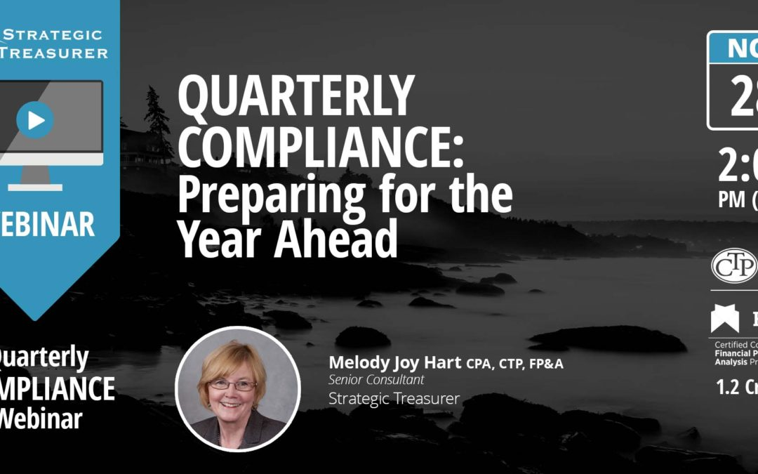 Preparing for the Year Ahead [Quarterly Compliance Webinar]