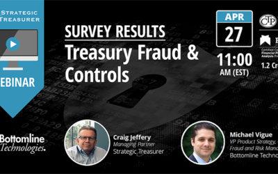 Survey Results: 2017 Treasury Fraud & Control [Webinar with Bottomline Technologies]
