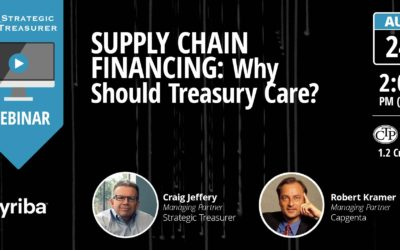 Supply Chain Financing: Why Should Treasury Care? [Webinar with Kyriba]
