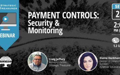 Payment Controls: Security & Monitoring [Webinar with Axletree]