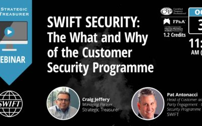 SWIFT Security: The What and Why of the Customer Security Programme [Webinar with SWIFT]