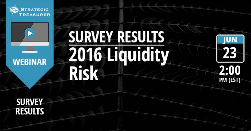 2016 Liquidity Risk Survey Results Webinar