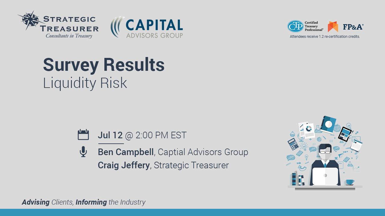 Survey Results: Liquidity Risk [Webinar with Captial