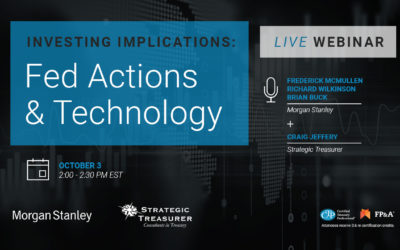 Investing Implications: Fed Actions and Technology Shifts Webinar – Morgan Stanley