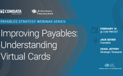 Webinar: Improving Payables: Understanding Virtual Cards