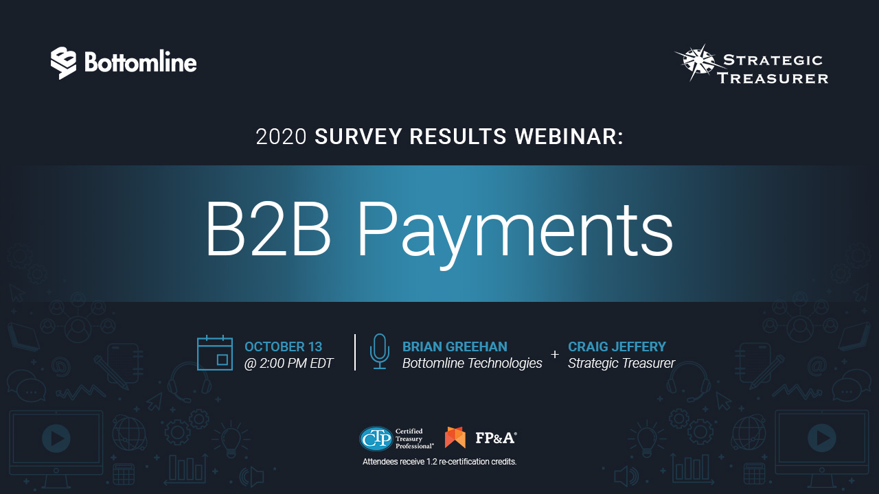 2020 B2B Payments Survey Results Webinar