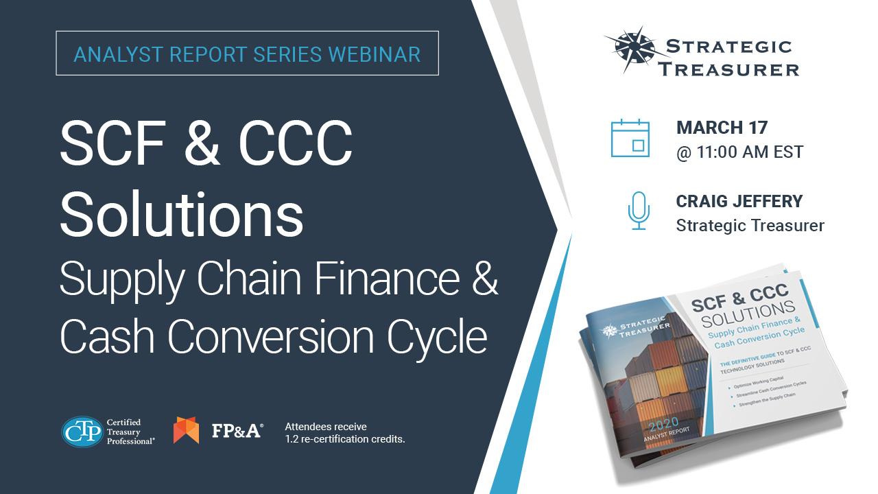 Analyst Report Webinar Series: SCF & CCC Solutions