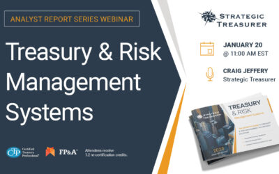 Webinar: Analyst Report Series: Treasury & Risk Management Systems